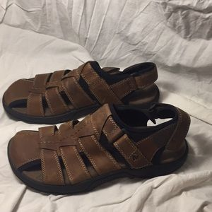 Merrell leather fishing sandals